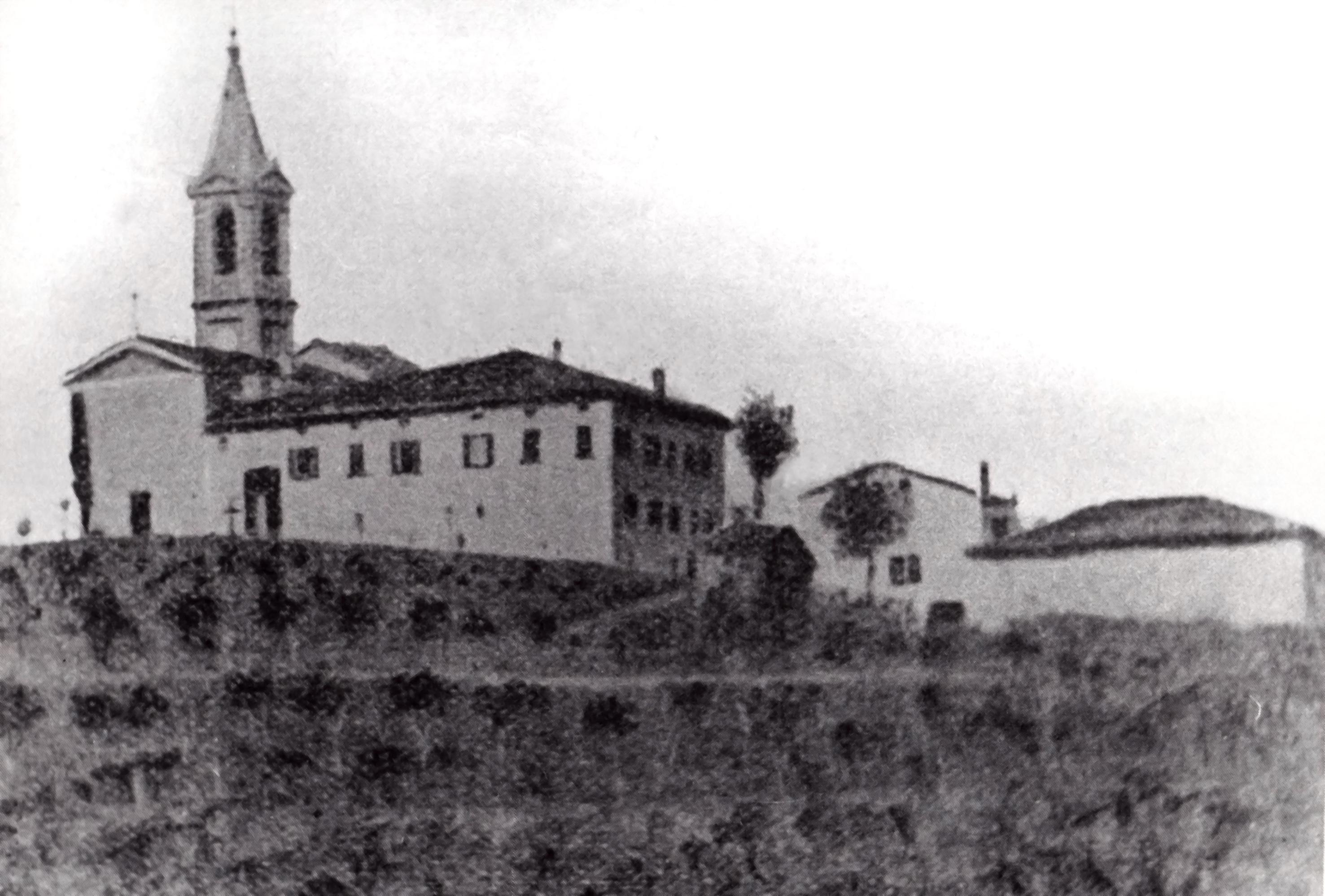 La Chiesa parrocchiale e la Canonica di Gorgognano