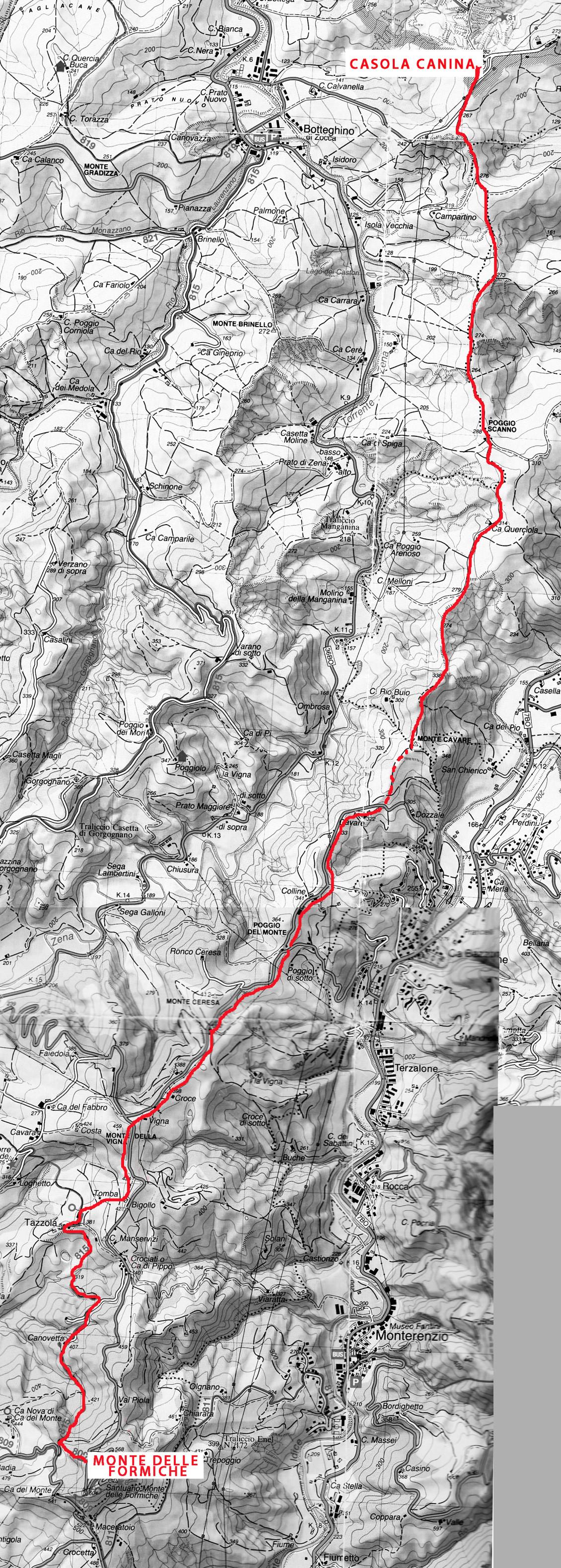 Sentiero Monte delle Formiche copia