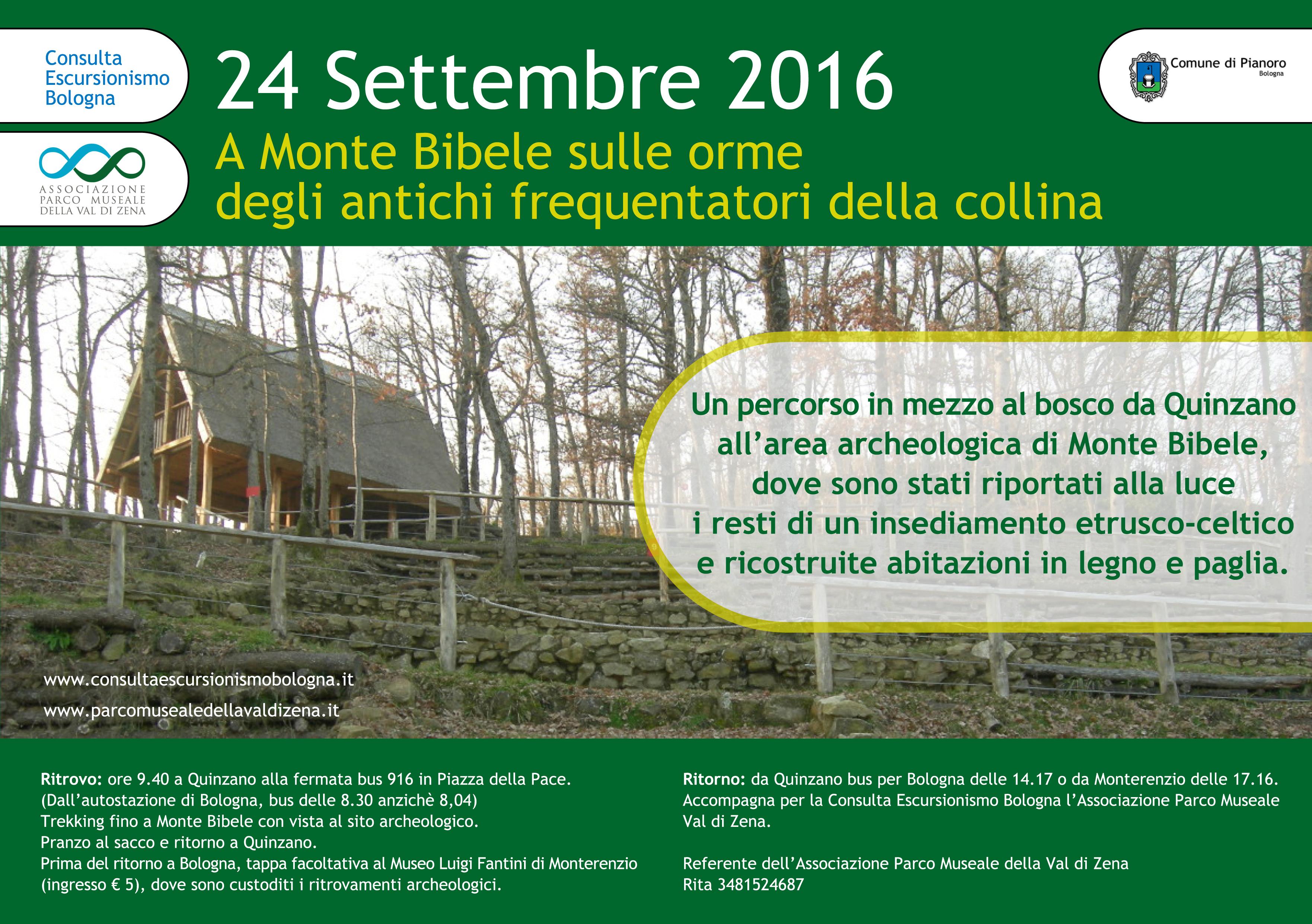 24 Settembre 2016 – Monte Bibele