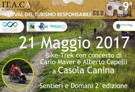 21 Maggio 2017 Bike-Trek con concerto di  Carlo Maver e Alberto Capelli a Casola Canina