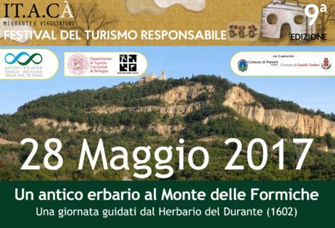 """""""Un antico erbario al Monte delle Formiche…"""" una giornata guidati dal Herbario del Durante (1602)"""