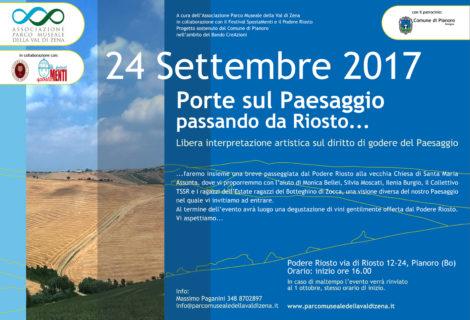 Porte sul Paesaggio 24 Settembre 2017