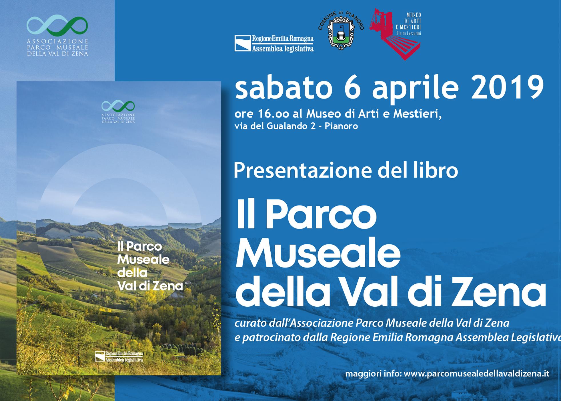 6 Aprile 2019 Presentazione libro: Il Parco Museale della Val di Zena
