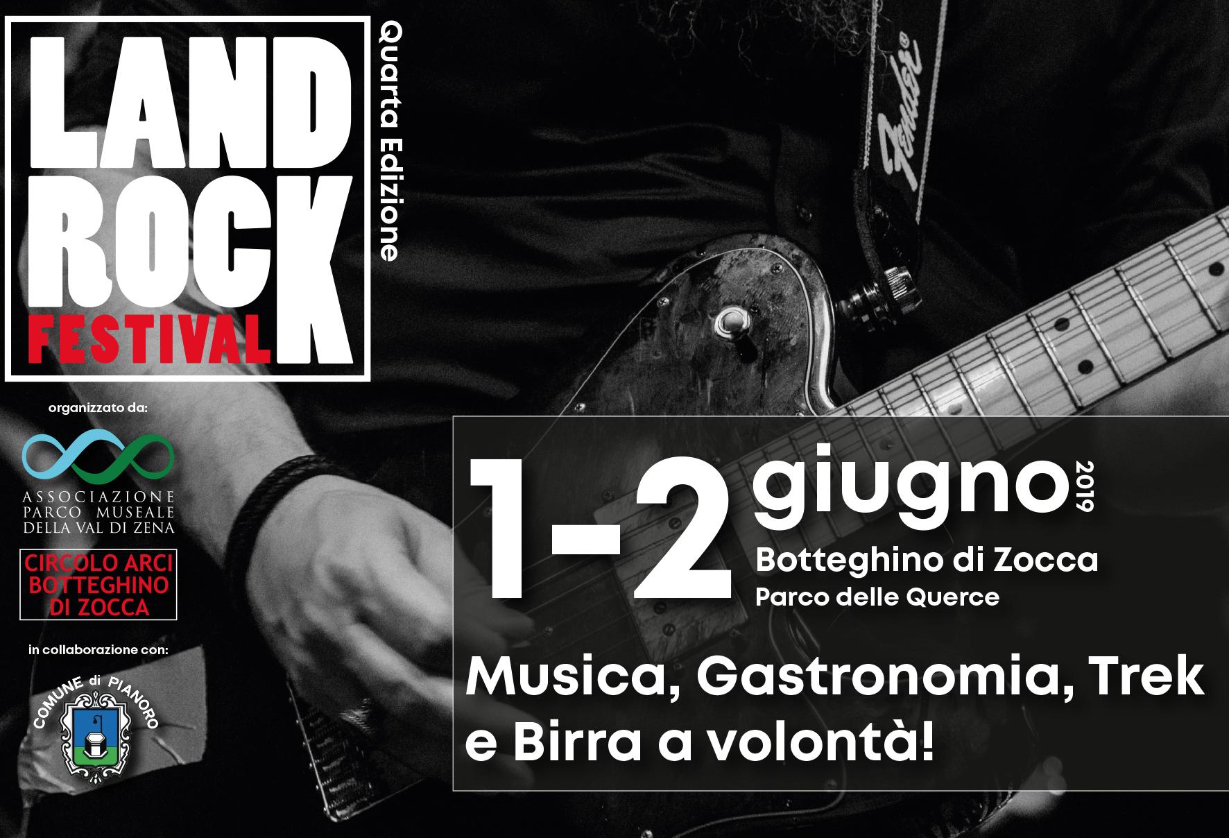 1-2 Giugno – Land Rock Festival 4.a Edizione