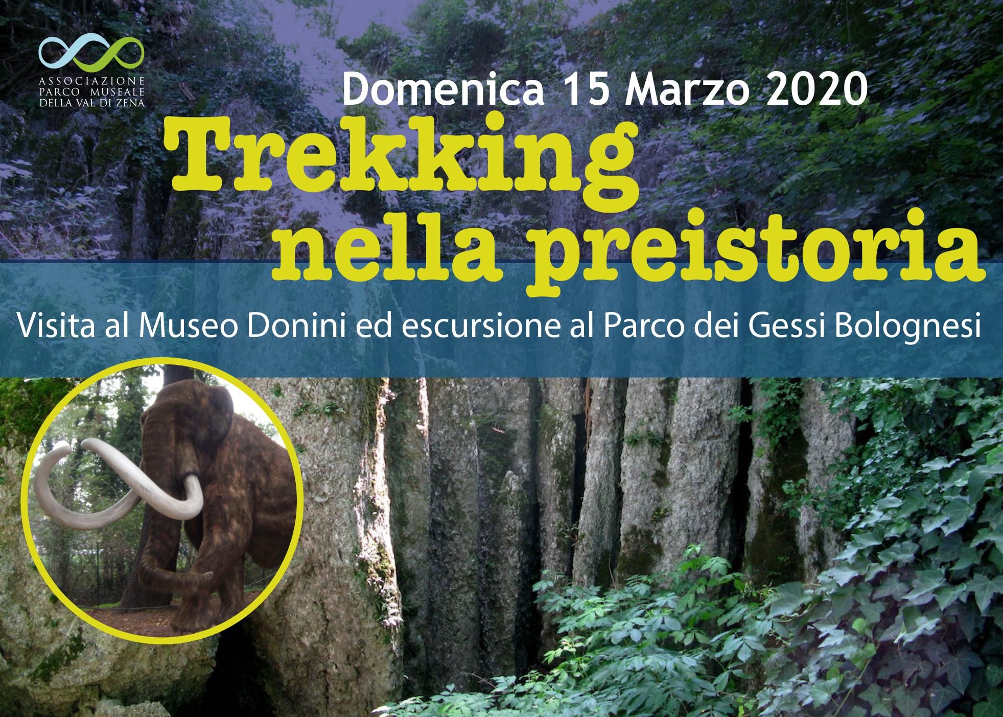 Domenica 15 Mar – Trekking nella Preistoria