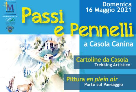PASSI E PENNELLI A CASOLA CANINA