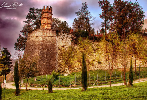 Sulla via del Fantini verso il Castello di Zena